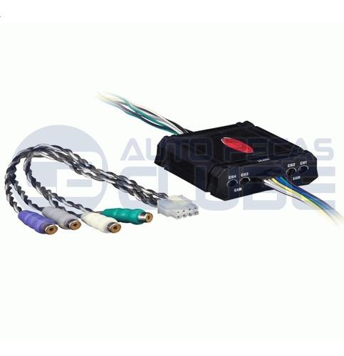 conversor rca 4 canais ajuste de ganho acionamento 80w