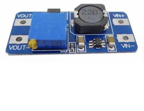 conversor regulador de tensão step up mt3608 arduino pic