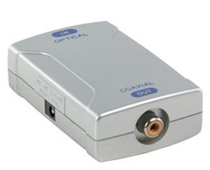 conversor señal audio digital toslink optica a coaxial digit