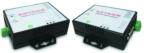 conversor serial rs-422 rs-485 a rs-232 c/protecc decargas