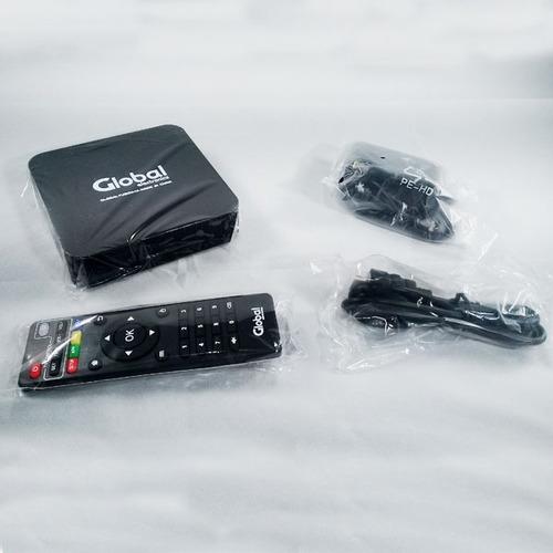 conversor smart tv android 6.0 tv box 4k netflix