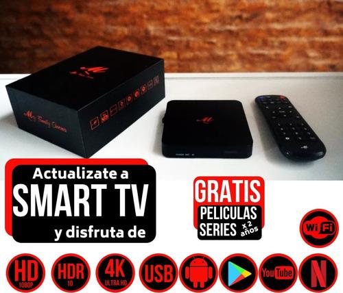 conversor smart tv android tv box hdmi usb piknik