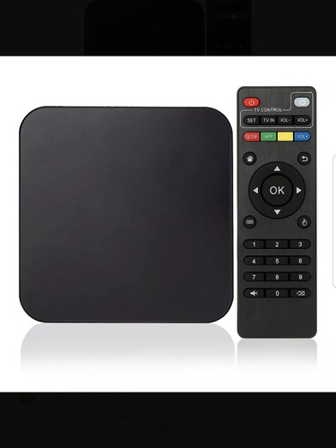 conversor smart tv android tv box quad core 4k mod 2018