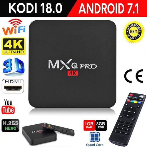 conversor smart tv android tv box quad core 4k mod 2018 wifi