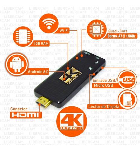 conversor smart tv android tv box quad core full hd small