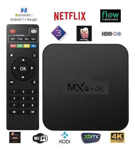 conversor smart tv box 4k android 2019 flow netflix garantia