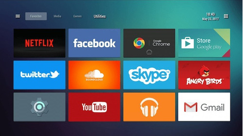 conversor smart tv box 4k quad core + cable hmdi + garantia