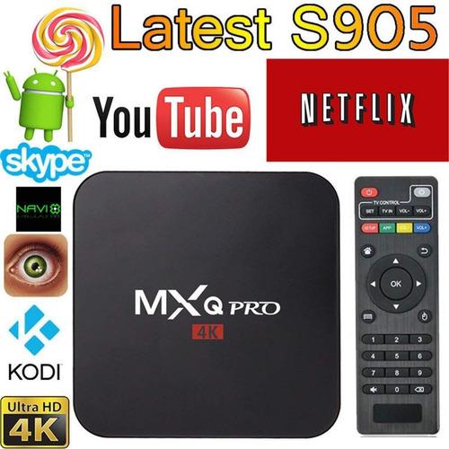 conversor smart tv box android 7 mqx pro 4k netflix