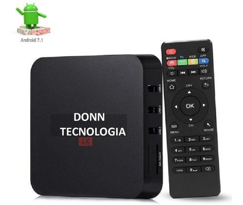 conversor smart tv box android mini pc 2gb netflix + control
