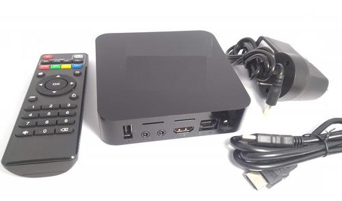 conversor smart tv box full memoria 1gb +8gb hdmi netflix