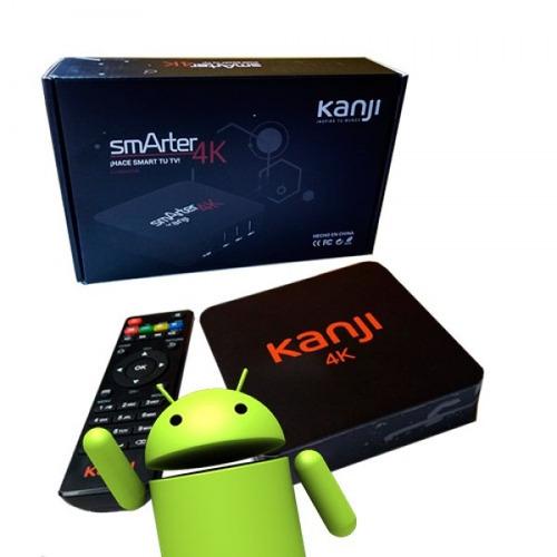 conversor smart tv box smarter 4k 8gb android 5 hdmi !!