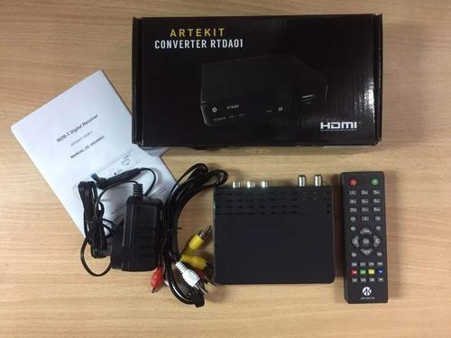 conversor tda hdmi digital tv publica artekit