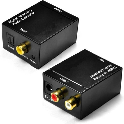 conversor toslink audio digital optico a rca titan belgrano