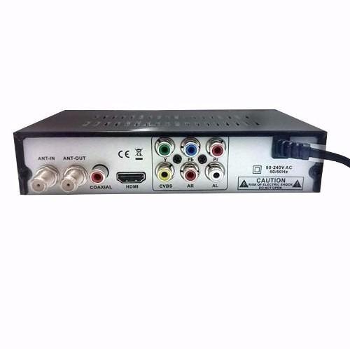 conversor tv digital h d t v c/ gravador usb mais controle
