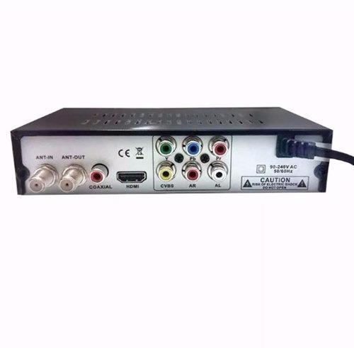 conversor tv sinal analógico p digital gravador tv de tubo