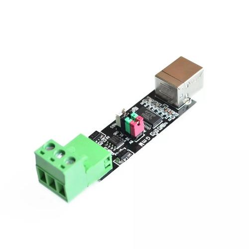 conversor usb 2.0 para serial rs485 ftdi ft232rl + cabo usb
