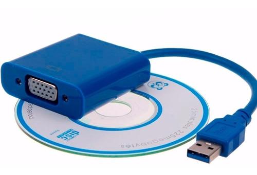 conversor usb a vga para multimonitor tarjeta video externa