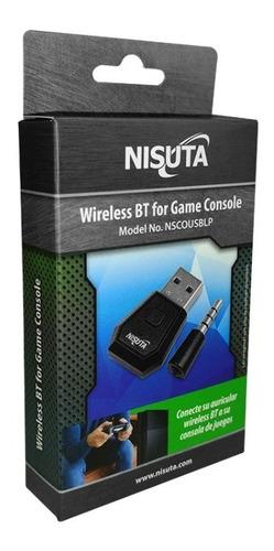 conversor usb para auricular bluetooth en consola de juegos