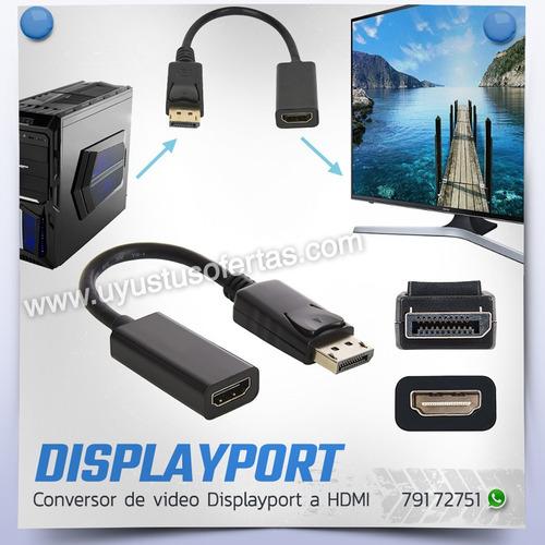 conversor video displayport a hdmi