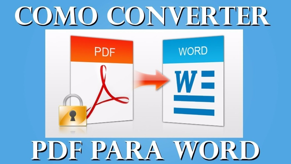 converter pdf pra word