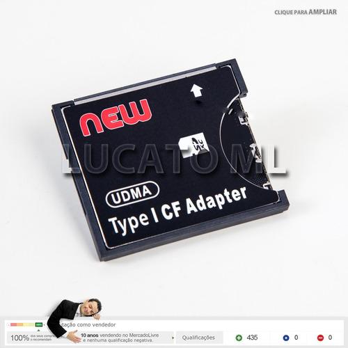 converte sd wifi para compact flash tipo 1 adaptador cf1 np