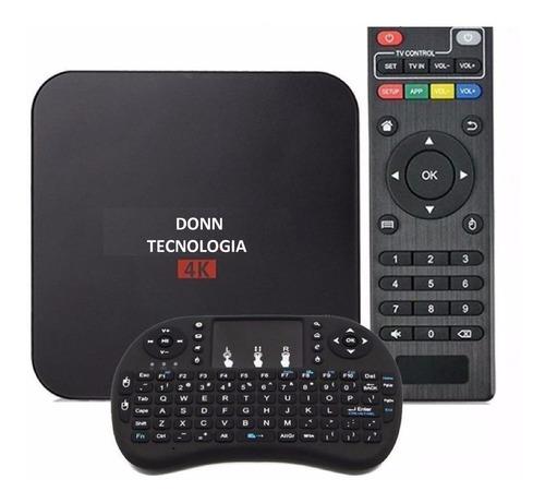 converti tv tubo led a smart tv dondle 1/8gb 4k + teclado