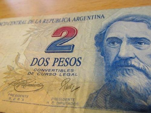 convertibles pesos billete pesos