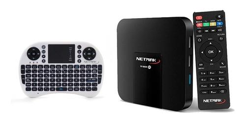 convertidor a smart tv netflix 4k 8g wifi android hdmi