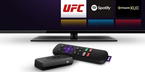 convertidor a smart tv roku expres control remoto a/v hdmi