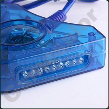 convertidor adaptador de ps1, ps2 y psx usb