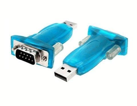 convertidor adaptador de usb a serial db9 rs232 pc laptop
