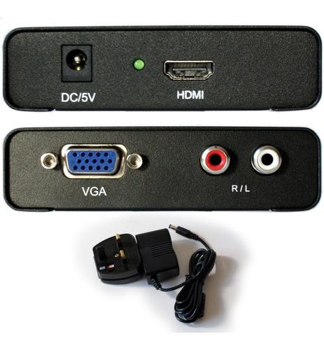 convertidor adaptador de video vga a hdmi