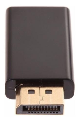 convertidor adaptador display port dp macho a hdmi hembra