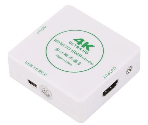 convertidor adaptador hdmi a hdmi con extractor de audio vga