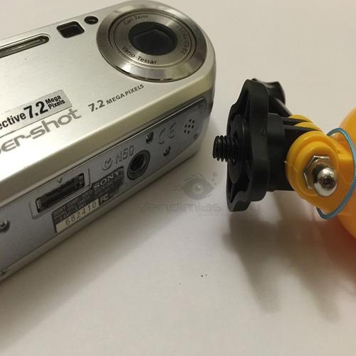 convertidor  adaptador inverso gopro action cam sony xiaomi