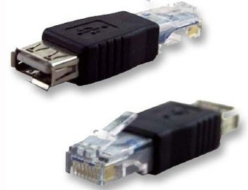 Convertidor adaptador rj45 macho a usb hembra lan red pc for Cable ethernet precio