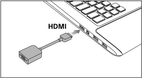 convertidor adaptador sony vaio  hdmi a vga original