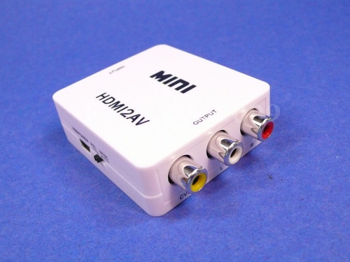 convertidor av entrada hdmi digital a salida rca analoga aud