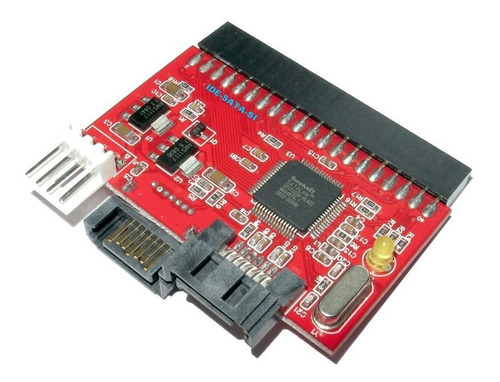 convertidor bidireccional ide-sata / sata-ide