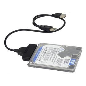 Convertidor Cable Adaptador Sata A Usb Para Discos Duros 2.5