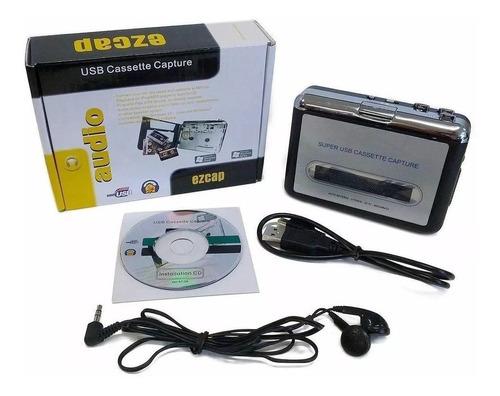 convertidor cassette a mp3 digital audio portatil