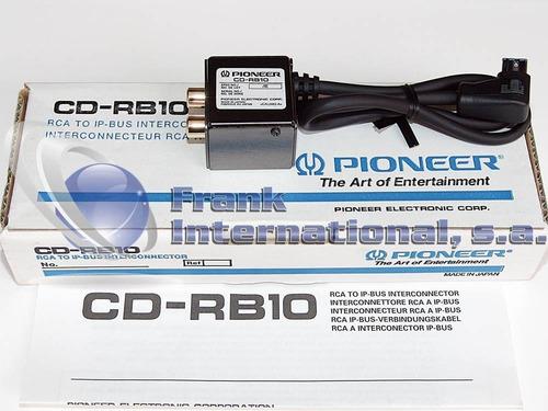convertidor cd-rb10 ip bus a rca pioneer original en tienda