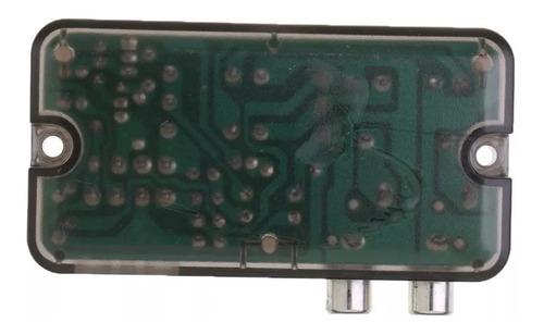 convertidor con cable de estereo altavoces +-a rca alta bajo