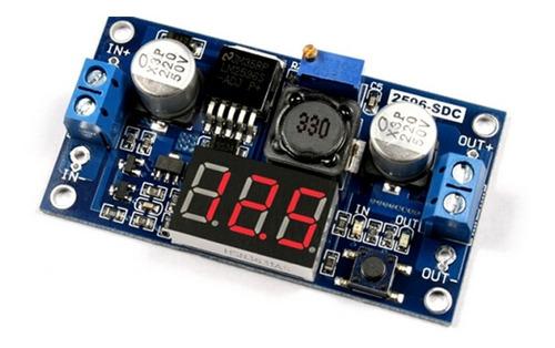 convertidor dc dc lm2596 step down con voltimetro