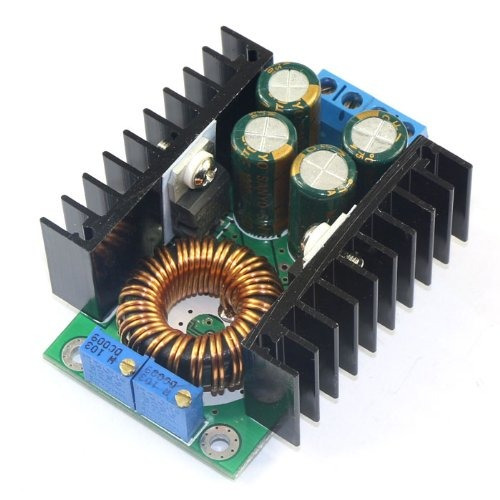 convertidor de 24v a 12v dc, drok buck regulable