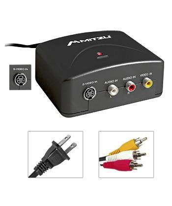 convertidor de audio y video mitzu 01-3402