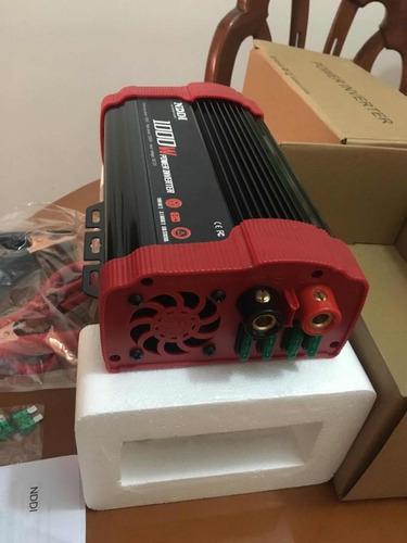 convertidor de corriente 1000w