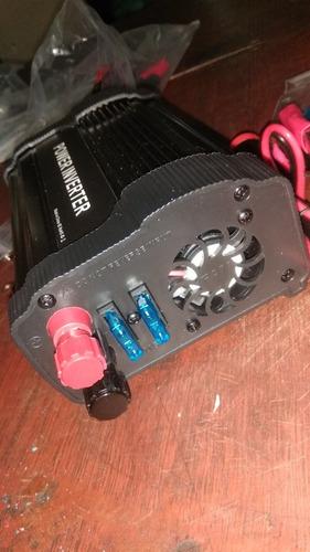 convertidor de corriente 12v a 110v