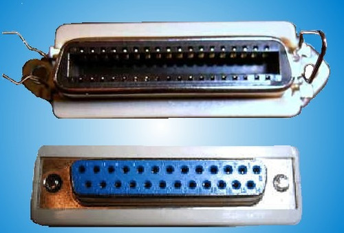 convertidor de db25 hembra a centronics c36 hembra