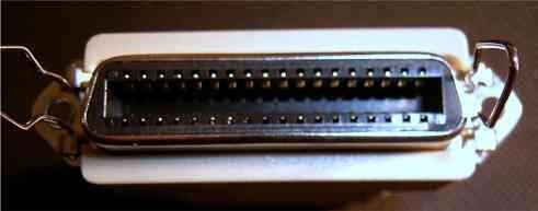 convertidor de db25 macho a centronics c36 hembra